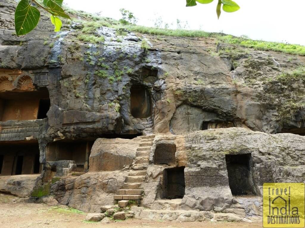 Bhaja Caves Side Section