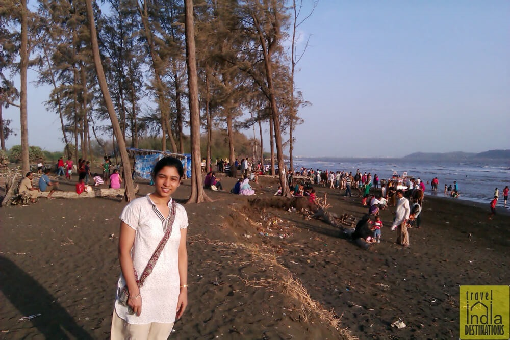 Sarah at Suruchi Beach Vasai