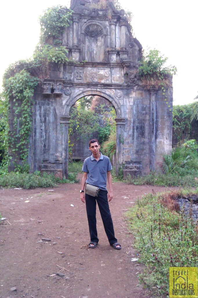 Vasai Fort Entrance North Side