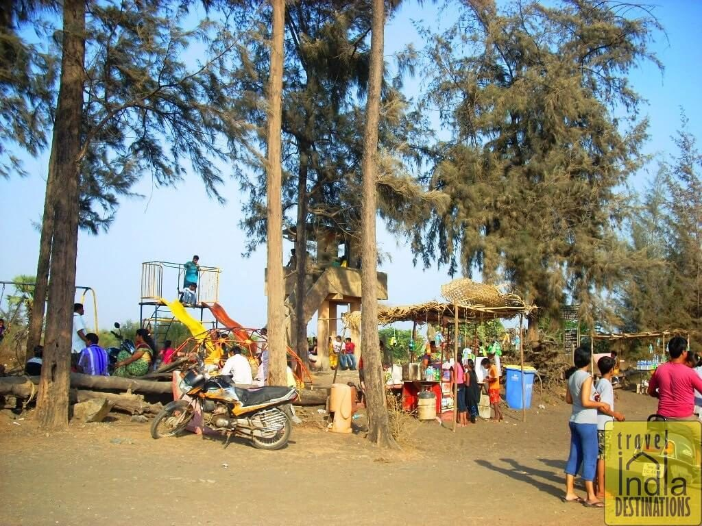 Play Area for the Children at Suruchi Beach