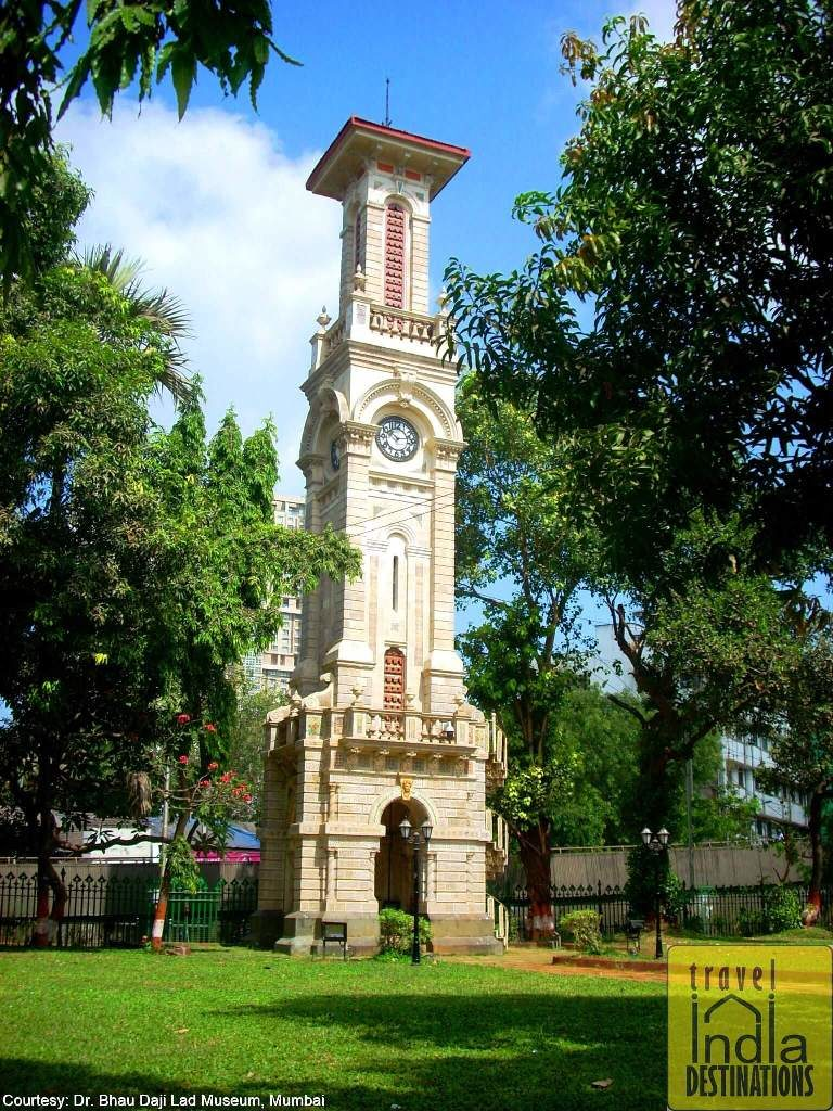 A Clock Tower Outside the Museum