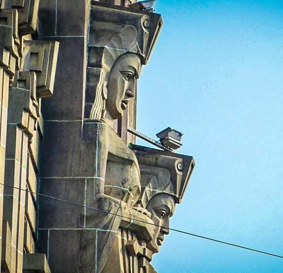 The Guardians at the New India Assurance Building in Mumbaihellip