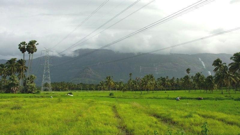 Ashtamudi During Monsoon