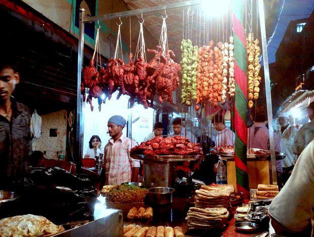 Roadside Stalls at Mohammed Ali Road