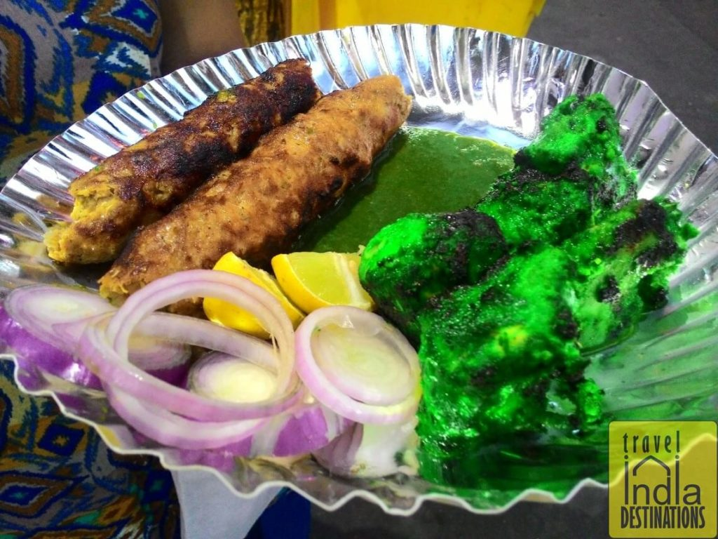 Seekh Kabab and Chicken Tikka