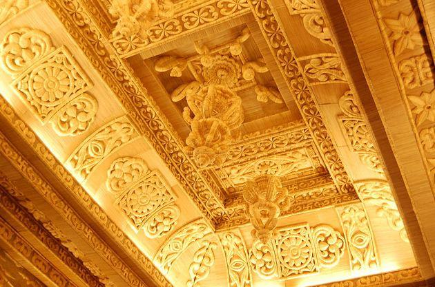 Ceiling Decoration at Suruchi Sangha Durga Puja Club