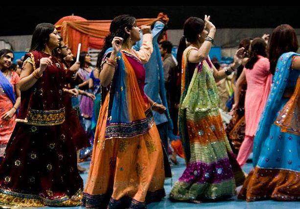 Garba Dance at Essel World
