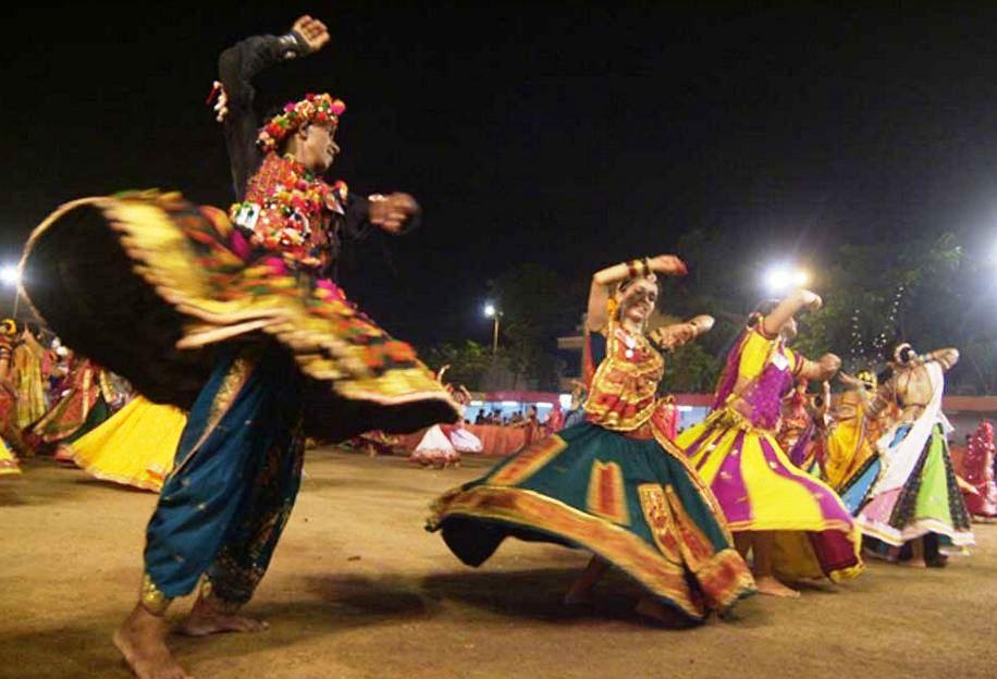 Navratri Dandiya in Gujarat