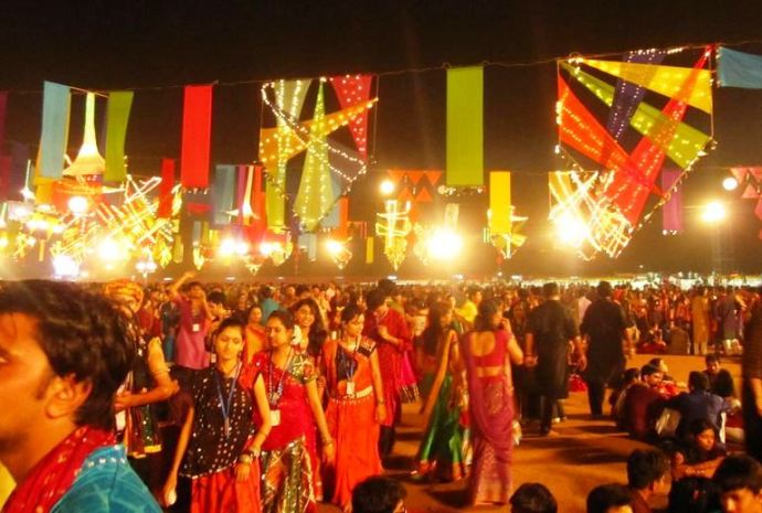 United Way Navratri Mahotsav Gujarat