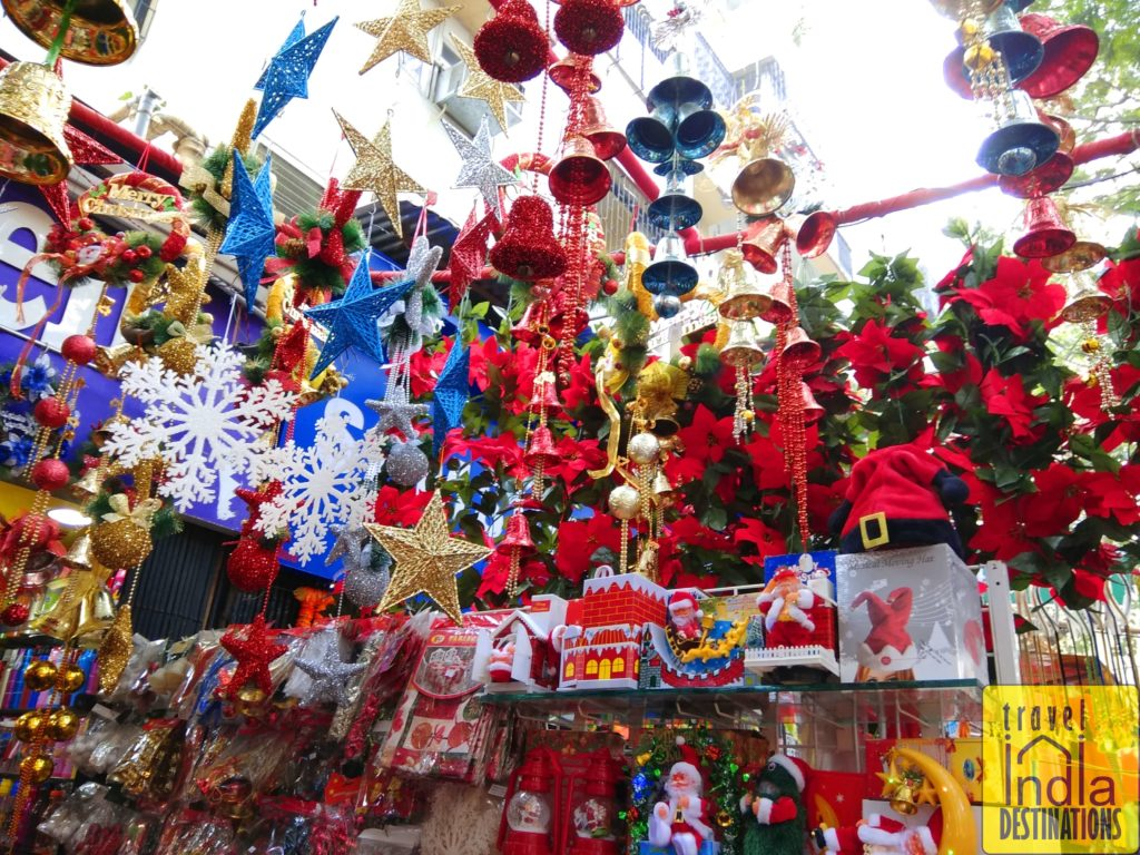 Christmas shopping in mumbai where to go travel india for Christmas decoration online shop