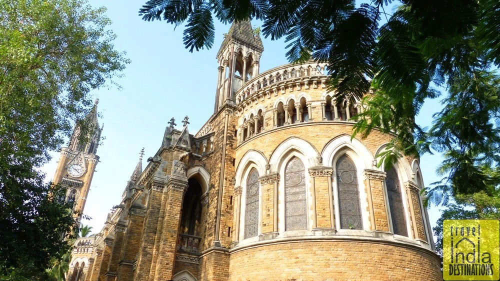 Exterior of Mumbai University