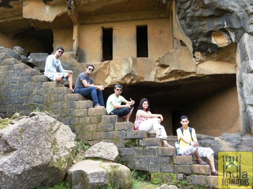 The Bhaja Caves Stairs