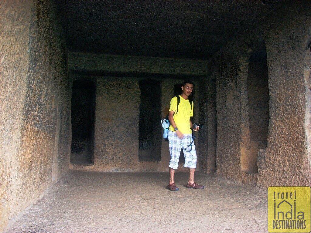 At the Bhaja Caves