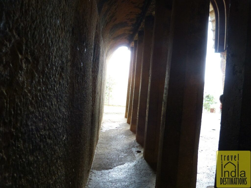 Bhaja Caves Side Pillar View