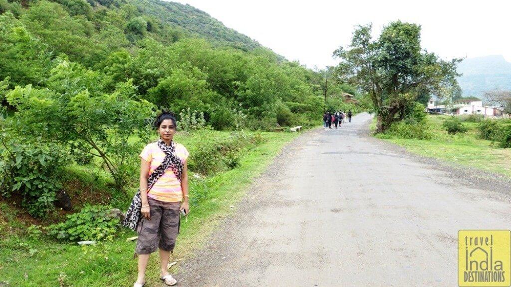 Village Road Heading to Bhaja Caves