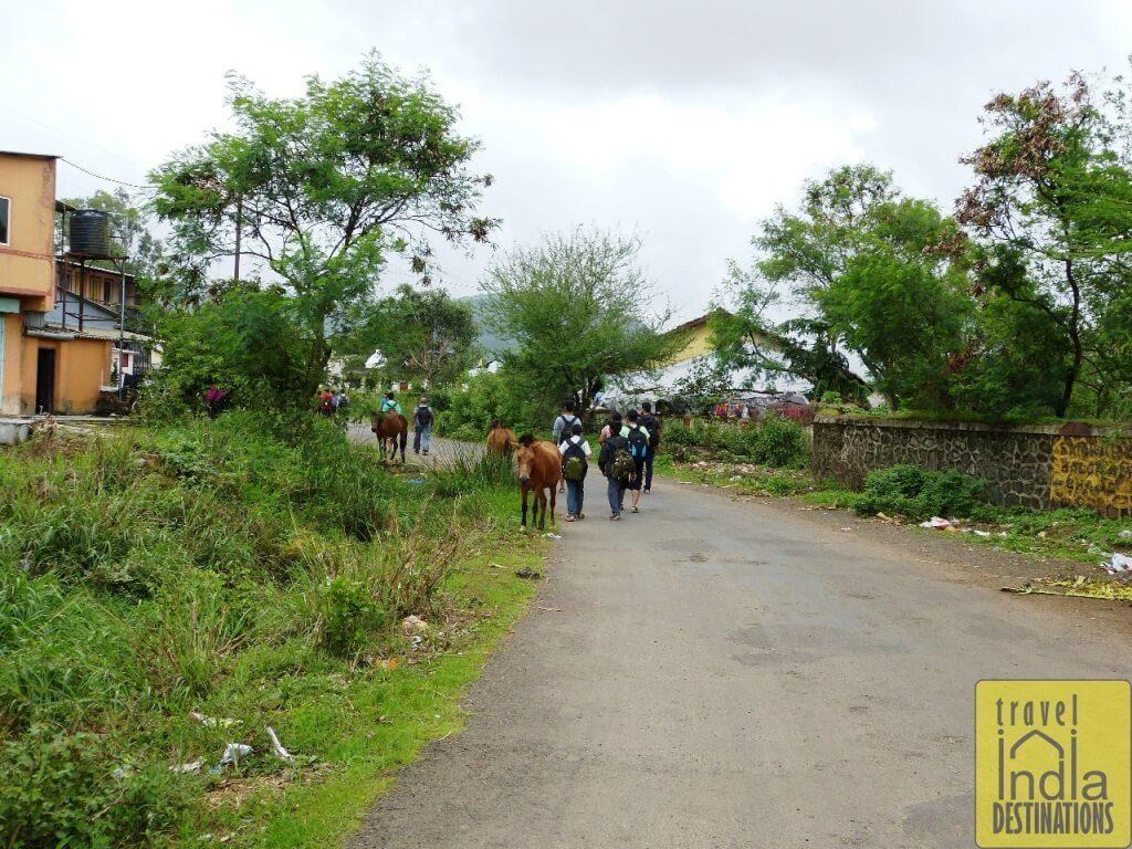 Walking the Village Roads