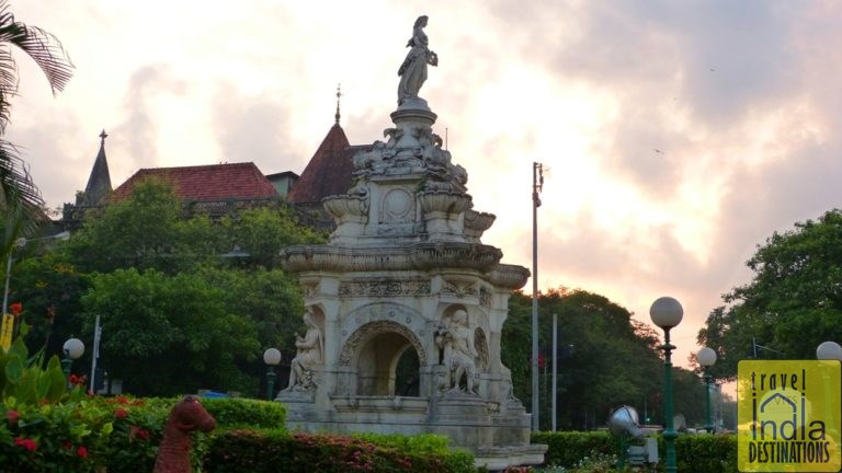 Flora Fountain Fort at Sunset