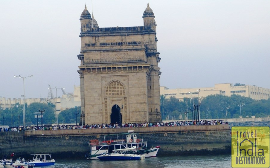 Gateway of India Side View