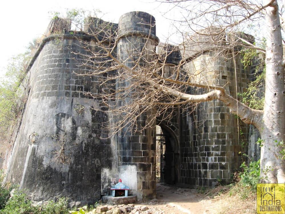 Vasai Fort Door South Side