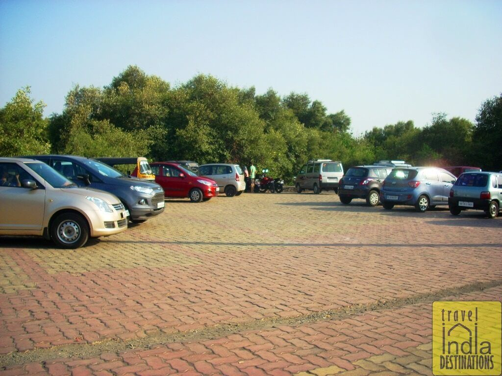 Car Parking at the Suruchi Beach