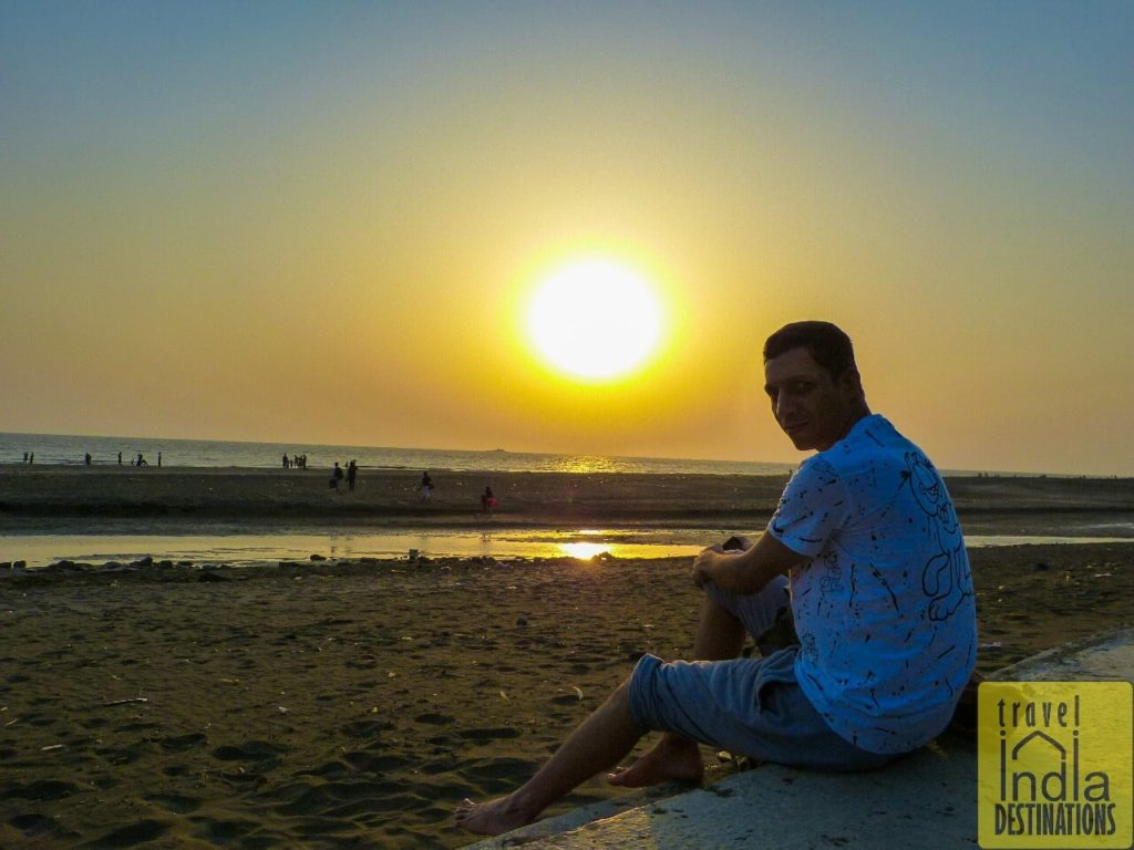 Sunset at the Suruchi Beach Vasai