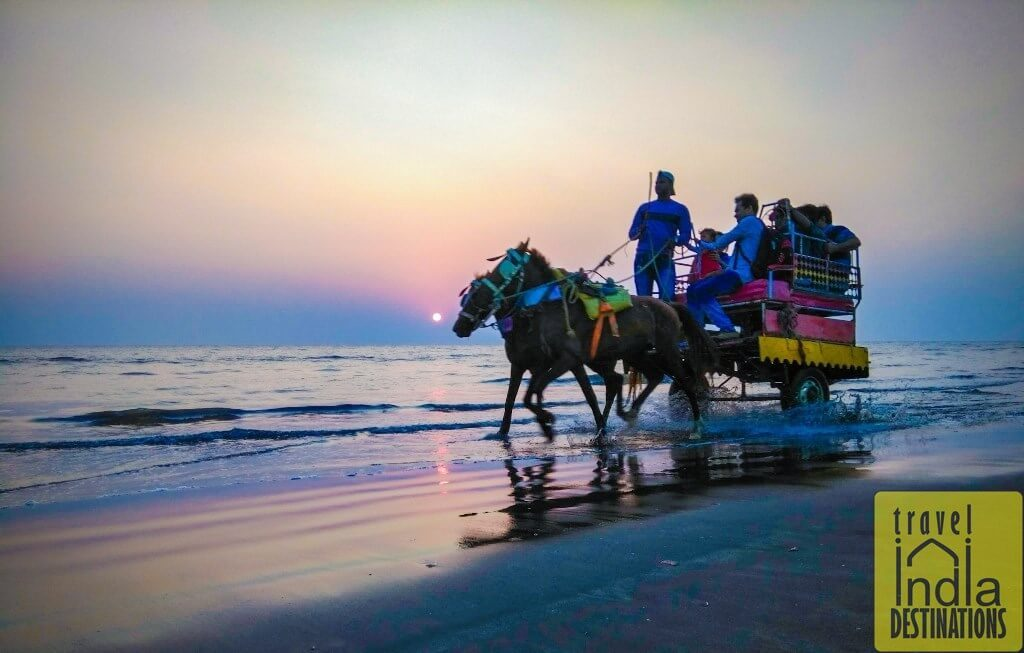 Horse Cart Ride at Suruchi Beach