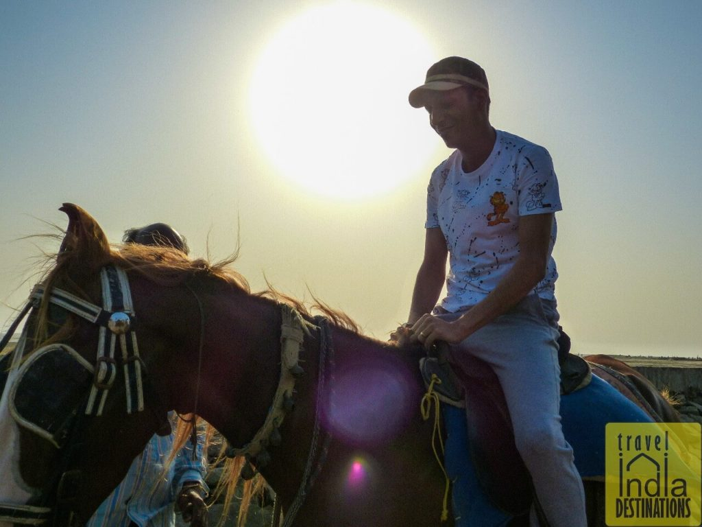 Horse Riding at Suruchi Beach