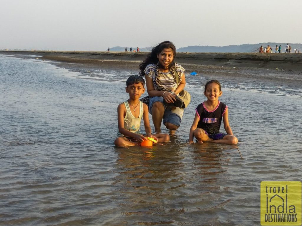 Kids at Suruchi Beach