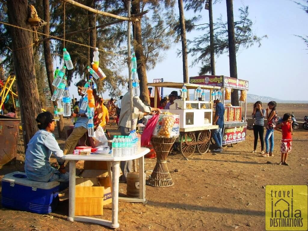 Snack Stalls at the Suruchi Beach