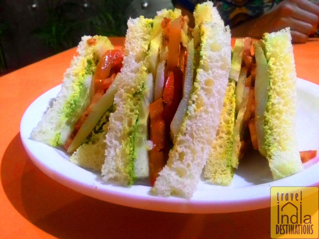 Vegetable Sandwich Mumbai