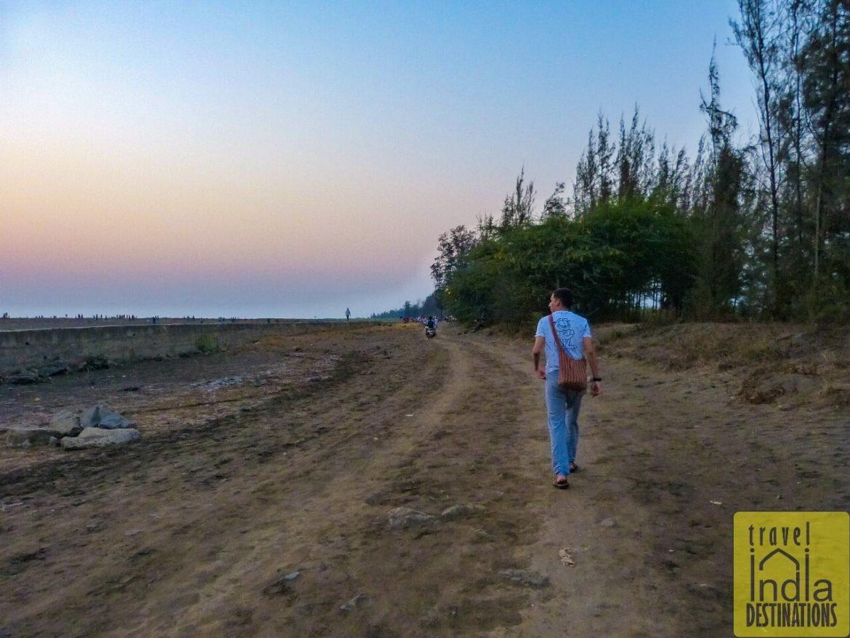 Walking the Suruchi Beach