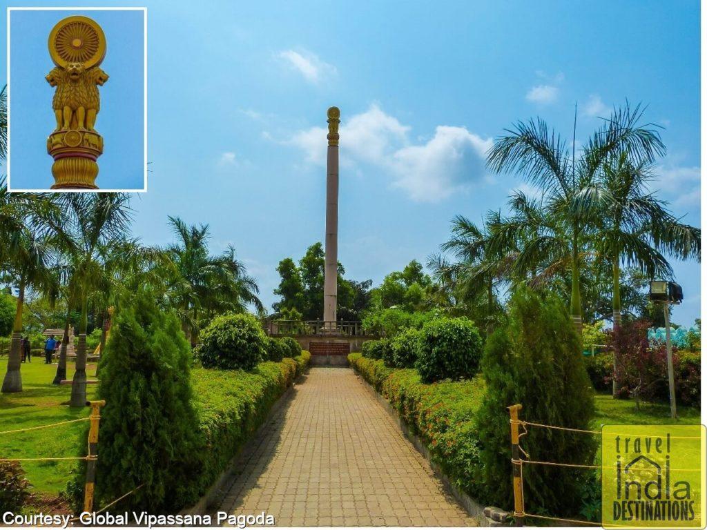 Global Pagoda Ashoka Pillar