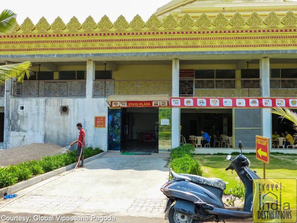 Global Vipassana Pagoda food court