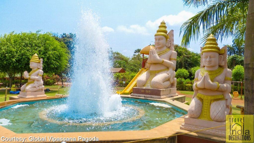Global Pagoda Fountain