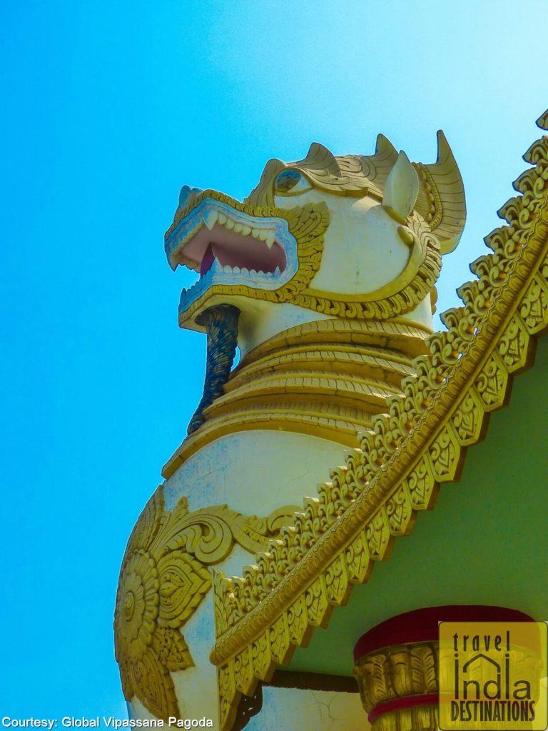 Myanmar Gate Lion