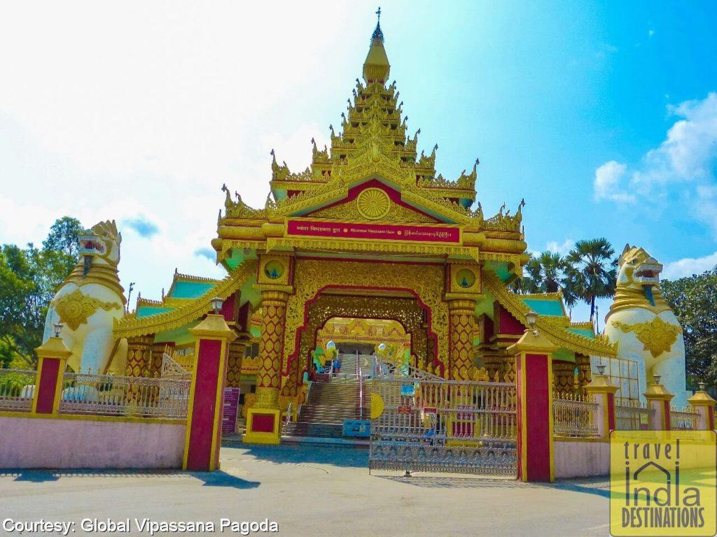 Myanmar Gate Global Pagoda