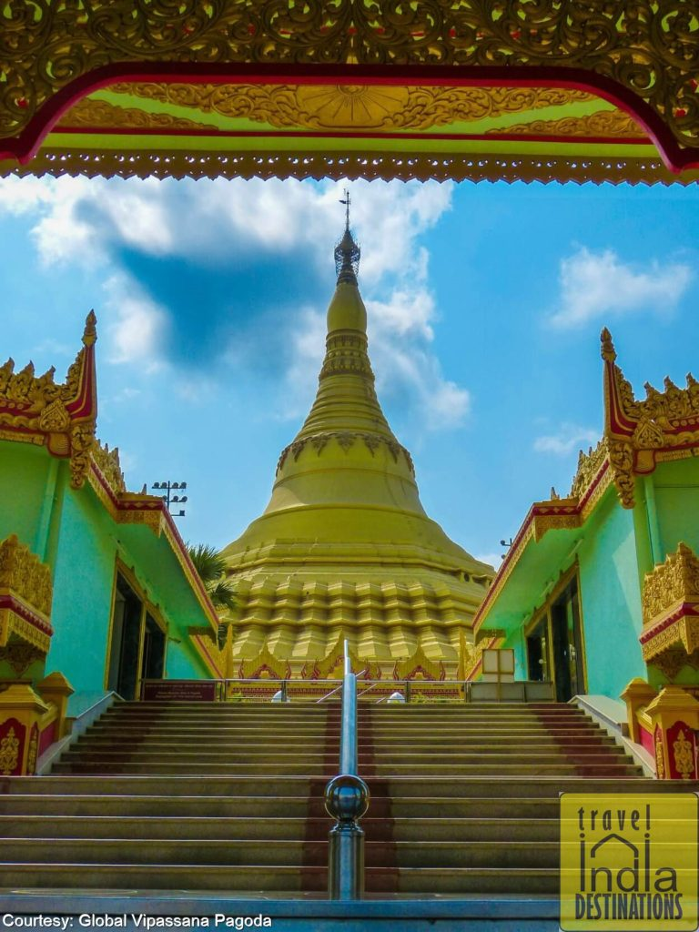 Pagoda from Myanmar Gate