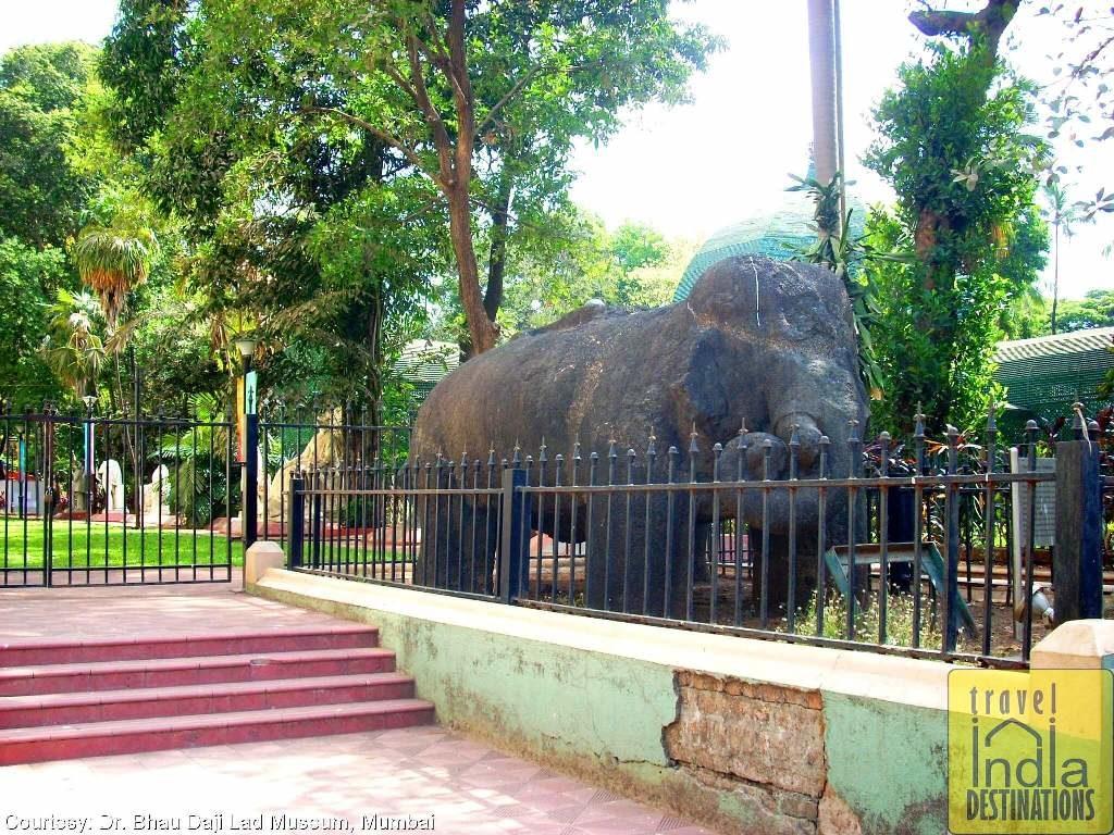 Gharapuri Caves Elephant