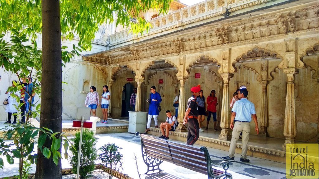 Amar Vilas City Palace Udaipur