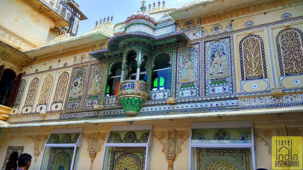 Mor Chowk City Palace Udaipur