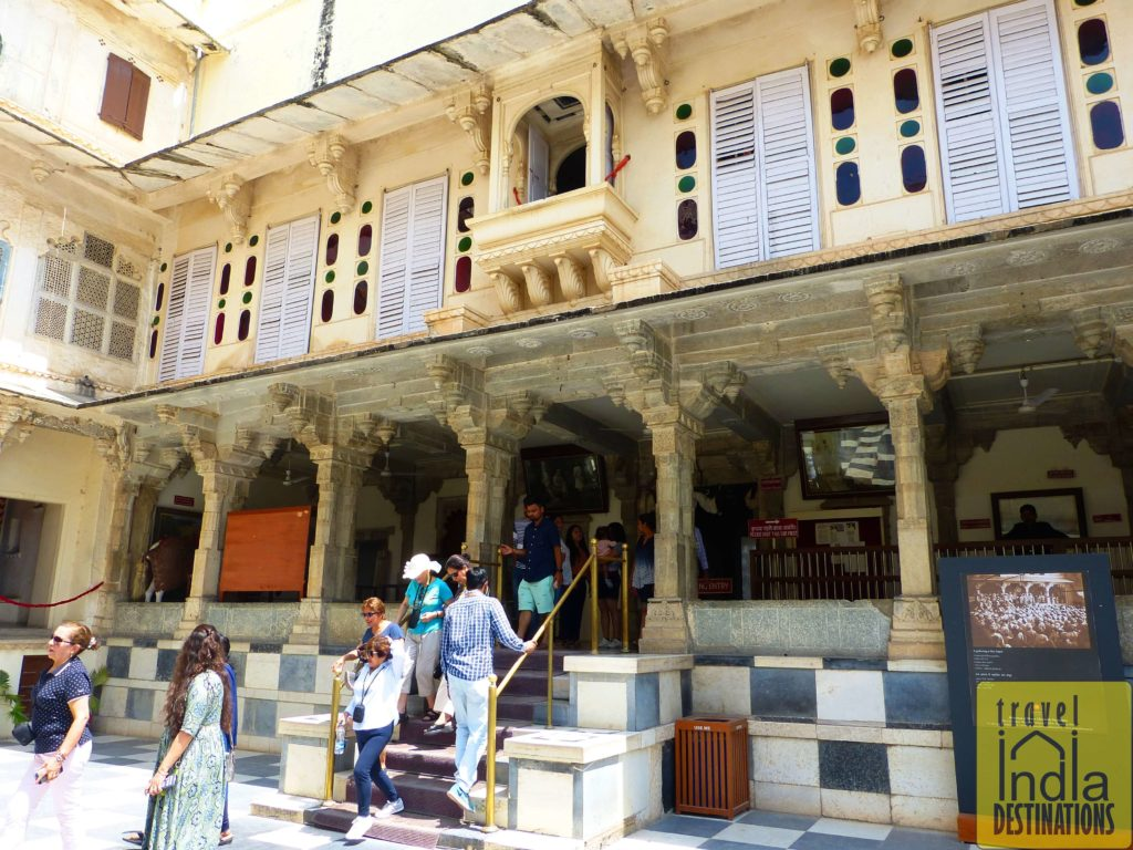 Royal Courtyard City Palace Udaipur